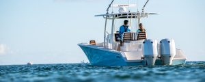 Jupiter boat fishing offshore