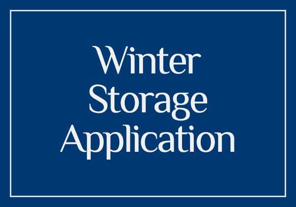 Winter Storage Application button